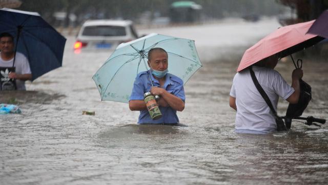 Foto: Banjir Besar di Provinsi Henan di China (58599)