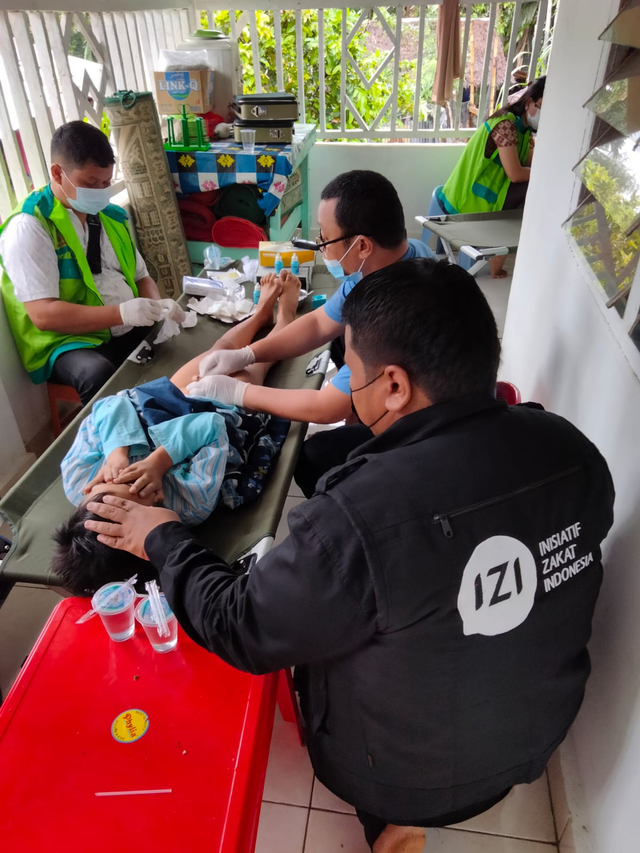 IZI Sumut dan Lembaga Filantropi Sumut Kolaborasi Bakti Sosial (648186)