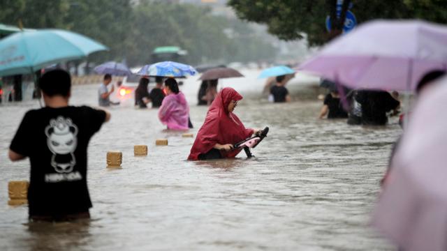 Badai Meluas, 73 Ribu Warga di Utara Provinsi Henan China Dievakuasi (1154233)