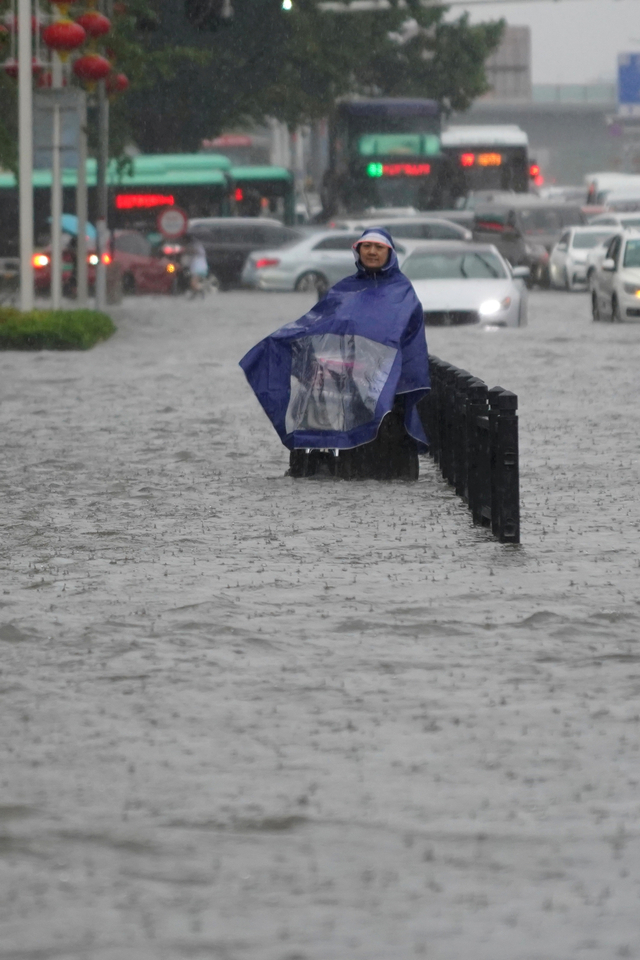 Foto: Banjir Besar di Provinsi Henan di China (58596)
