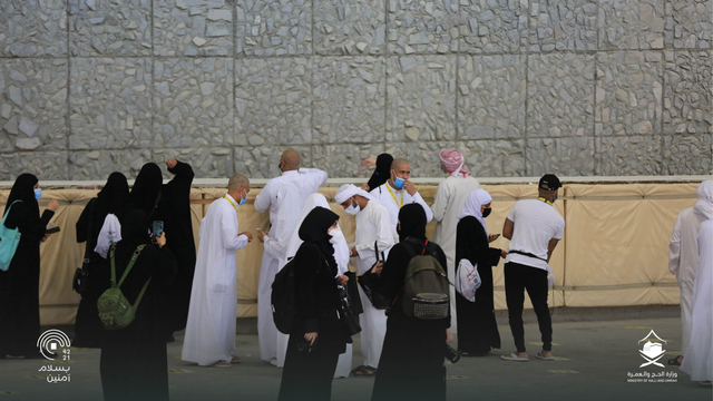 Hari Kelima Haji 2021: Suasana Lempar Jumrah dan Tawaf Wada (43686)