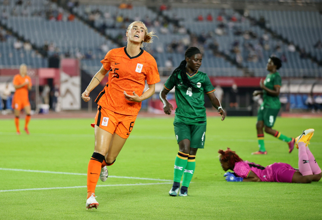 Rekor! Tim Sepak Bola Putri Belanda Bikin 10 Gol di Laga Perdana Olimpiade 2020 (146922)