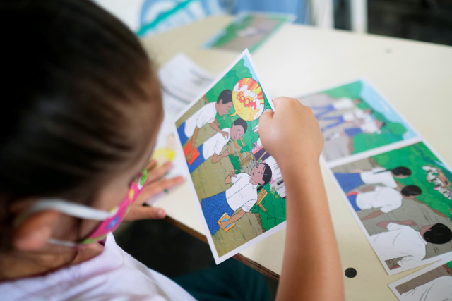 Foto: Anak-anak di Kolombia Belajar Identifikasi Ranjau Darat (1038020)