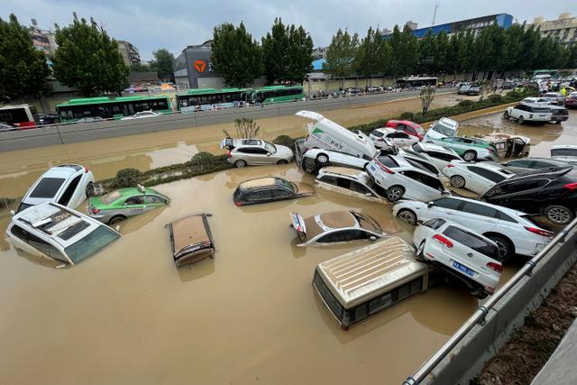 Badai Meluas, 73 Ribu Warga di Utara Provinsi Henan China Dievakuasi (1154234)