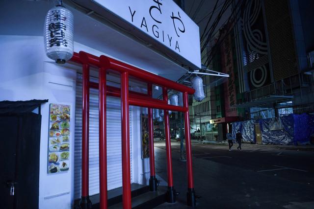 Foto: Sepinya Kawasan Pertokoan dan Restoran di Blok M Saat PPKM Level 4  (43454)