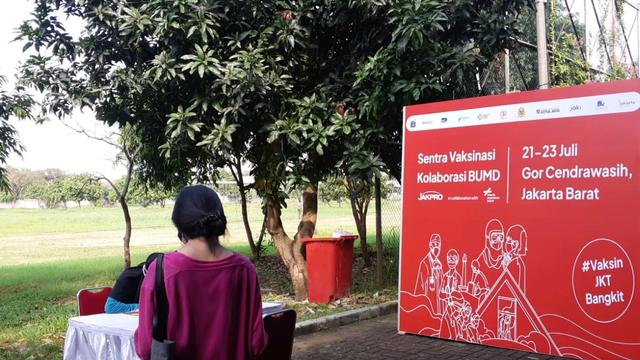 Jakpro Dirikan Sentra Vaksinasi Corona di GOR Cendrawasih, Daftar Bisa via JAKI (287614)