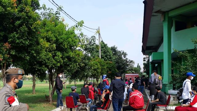 Jakpro Dirikan Sentra Vaksinasi Corona di GOR Cendrawasih, Daftar Bisa via JAKI (287613)