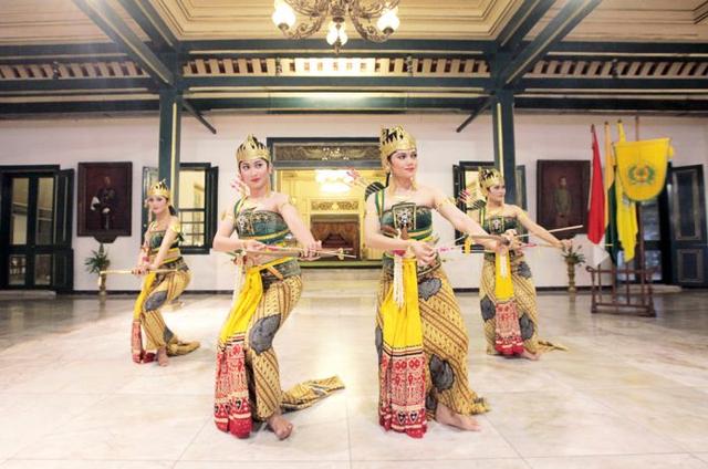 Gerakan Tari Serimpi, Seni Klasik Keraton Yogyakarta (38371)