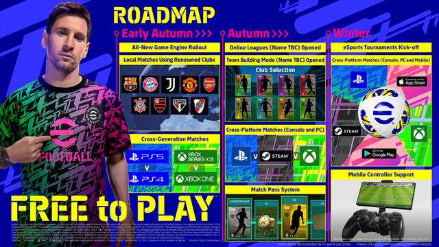 Game Bola eFootball Bisa Lintas Platform, Gamer HP Bisa Lawan Gamer PS5 (21548)