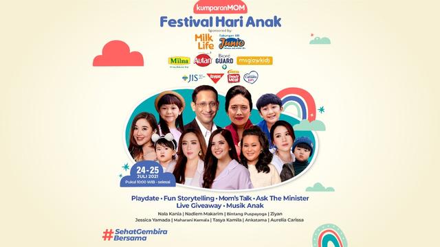 Festival Hari Anak Kembali Hadir di Bulan Juli 2021! (281206)