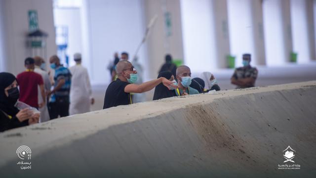 Hari Kelima Haji 2021: Suasana Lempar Jumrah dan Tawaf Wada (43685)
