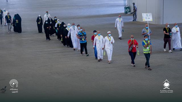 Hari Kelima Haji 2021: Suasana Lempar Jumrah dan Tawaf Wada (43684)
