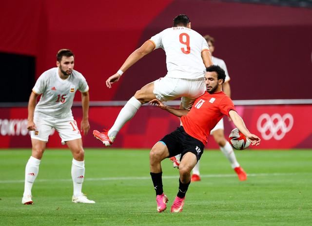 Mesir vs Spanyol: La Furia Roja Ditahan Imbang di Laga Pembuka Olimpiade 2020 (32707)