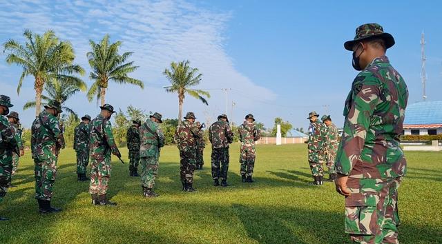 Lanud SMH Palembang Gelar Latihan Pengamanan Pangkalan (769857)