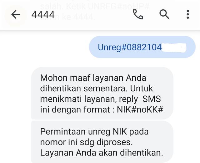 Cara Unreg Kartu AXIS Lewat SMS dan Gerai (429744)
