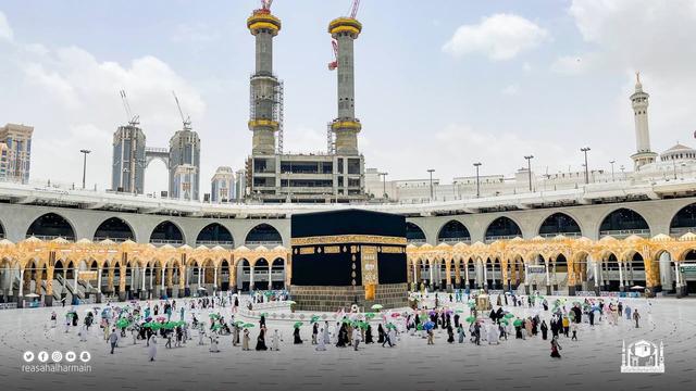 Hari Kelima Haji 2021: Suasana Lempar Jumrah dan Tawaf Wada (43680)