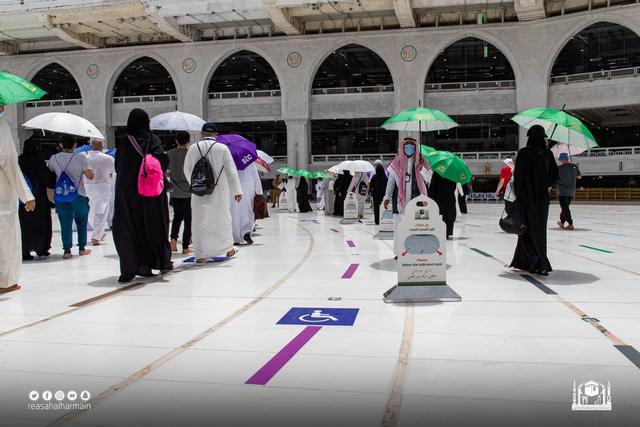 Hari Kelima Haji 2021: Suasana Lempar Jumrah dan Tawaf Wada (43690)