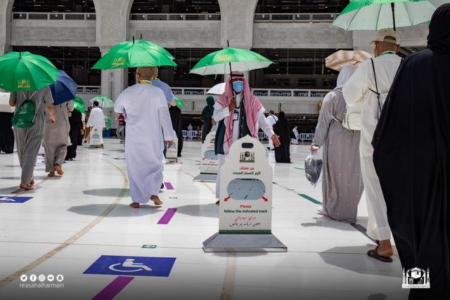 Hari Kelima Haji 2021: Suasana Lempar Jumrah dan Tawaf Wada (43689)