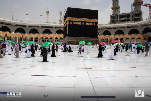 Hari Kelima Haji 2021: Suasana Lempar Jumrah dan Tawaf Wada (43688)