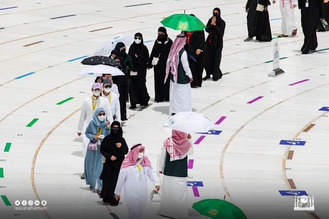 Hari Kelima Haji 2021: Suasana Lempar Jumrah dan Tawaf Wada (43693)