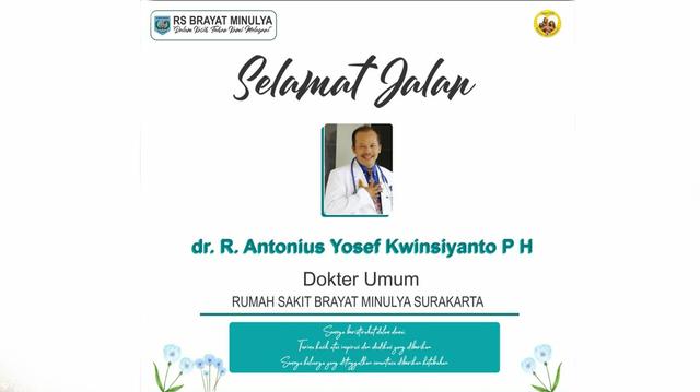 Dokter di RS Brayat Minulya Solo Meninggal Lantaran COVID-19 (58929)