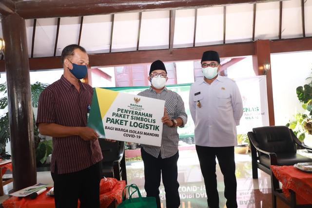 Pemkot Malang Salurkan 1.500 Paket Sembako untuk Warga Isoman (35764)