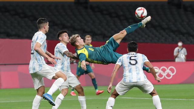 Hasil Olimpiade 2020: 10 Pemain Argentina Keok Lawan Australia (14586)