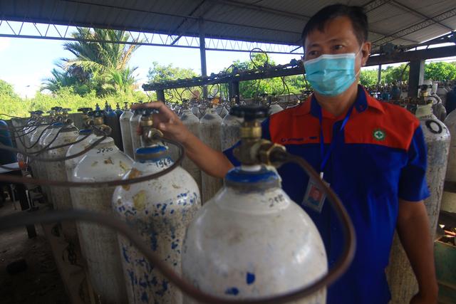 Foto: Stok Gas Oksigen di Sumbar Kosong (95955)