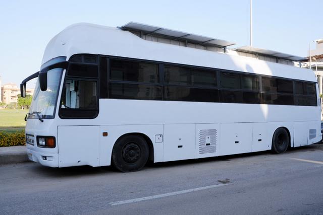 Foto: Wanita Mesir Ubah Bus Menjadi Rumah Mungil (36515)
