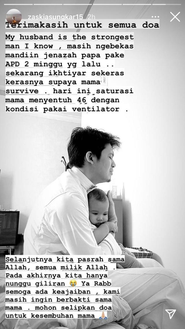 Zaskia Sungkar Berdoa untuk Kesembuhan Ibunda Irwansyah: Semoga Ada Keajaiban (266017)