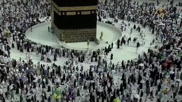 Tawaf Wada Haji 2021, Suasana Paling Ramai di Sekeliling Ka'bah Setahun Terakhir (491498)