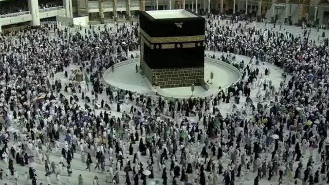Tawaf Wada Haji 2021, Suasana Paling Ramai di Sekeliling Ka'bah Setahun Terakhir (491497)