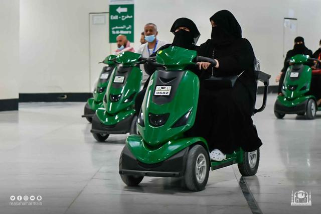 3.000 Skuter Listrik Tersedia untuk Tawaf Wada Jemaah Haji 2021 (87889)