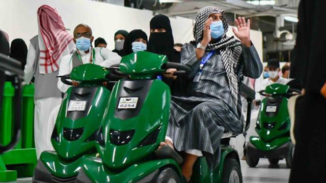3.000 Skuter Listrik Tersedia untuk Tawaf Wada Jemaah Haji 2021 (87891)