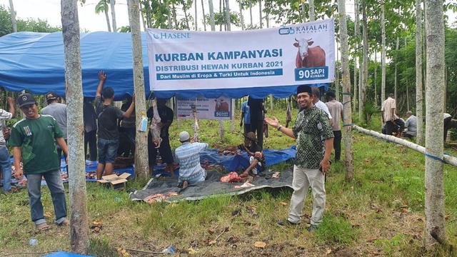 Muslim Turki Salur 90 Sapi Kurban ke Aceh, Sejarawan: Hubungan Kuat Sejak Dulu  (423795)