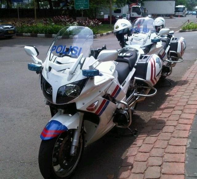 Moge Yamaha FJR 1300 Bekas Patwal Dilelang Murah, Segini Harganya (50987)