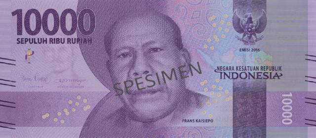 Putra Papua di Uang Rp 10 Ribu: Frans Kaisiepo dan Keyakinannya Memilih NKRI (52306)