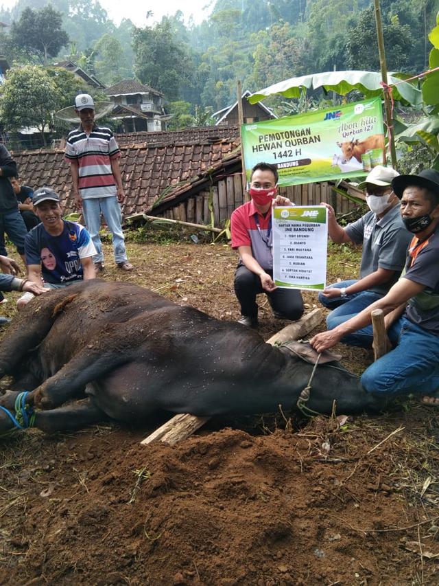 JNE Bandung - IZI Distribusikan Daging Qurban untuk Generasi Penghafal Quran (356514)