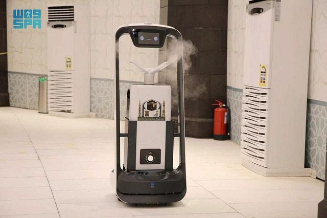 Melihat Hebatnya Teknologi AI dan Robot di Masjidil Haram dan Nabawi Haji 2021 (168941)