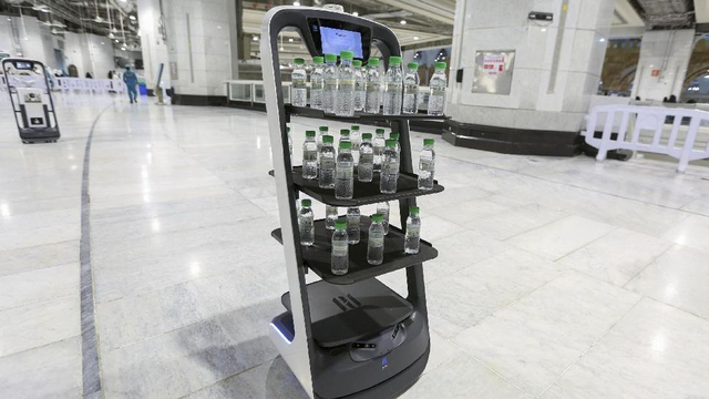Melihat Hebatnya Teknologi AI dan Robot di Masjidil Haram dan Nabawi Haji 2021 (168942)