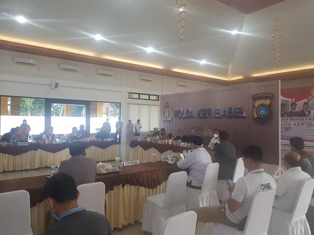 Bangka Belitung Terapkan PPKM Level 3 hingga Level 4 (143904)