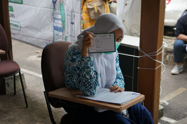 Sambut HAN, Dompet Dhuafa Gelar Vaksinasi Untuk Ratusan Anak Sekolah (350915)