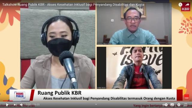 Memberikan Akses Kesehatan Inklusif Bagi OYPMK dan Penyandang Disabilitas (54119)