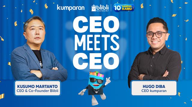 CEO Meets CEO: Perjalanan Blibli selama 10 Tahun Hadir di Indonesia (441281)