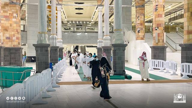 Haji 2021 Berakhir, Jemaah Umrah Kembali Berdatangan ke Masjidil Haram (909)