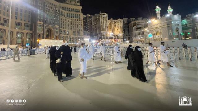 Haji 2021 Berakhir, Jemaah Umrah Kembali Berdatangan ke Masjidil Haram (908)