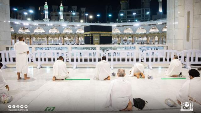 Haji 2021 Berakhir, Jemaah Umrah Kembali Berdatangan ke Masjidil Haram (904)