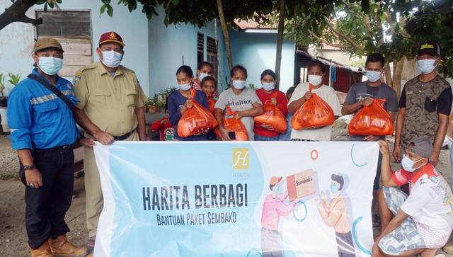 HARITA Nickel Distribusikan 1.500 Paket Sembako untuk Warga Terdampak Pandemi (289155)