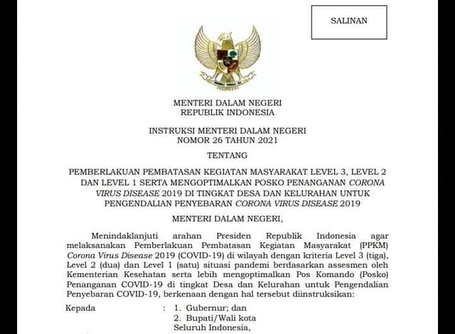 Sultra Mulai Terapkan PPKM Level 3 Hingga 2 Agustus (108538)