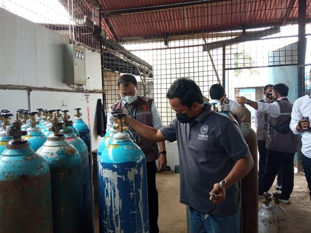 Antisipasi Penimbunan, Polda Jambi Bentuk Tim Pengawas Penjualan Tabung Oksigen (343239)